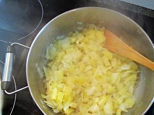 Gorgonzola Soup Prep 2