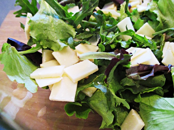 Date Bacon Parmesan Salad 4